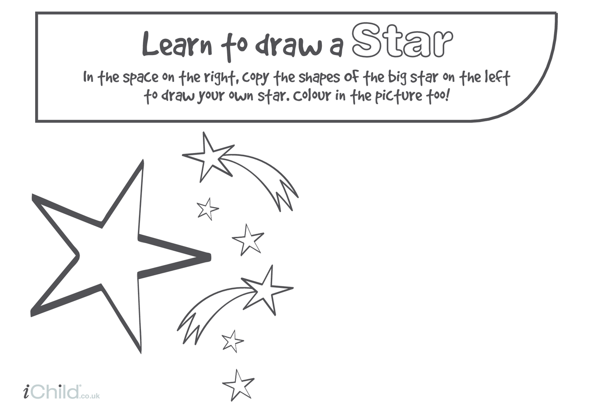 Learn to Draw a Star