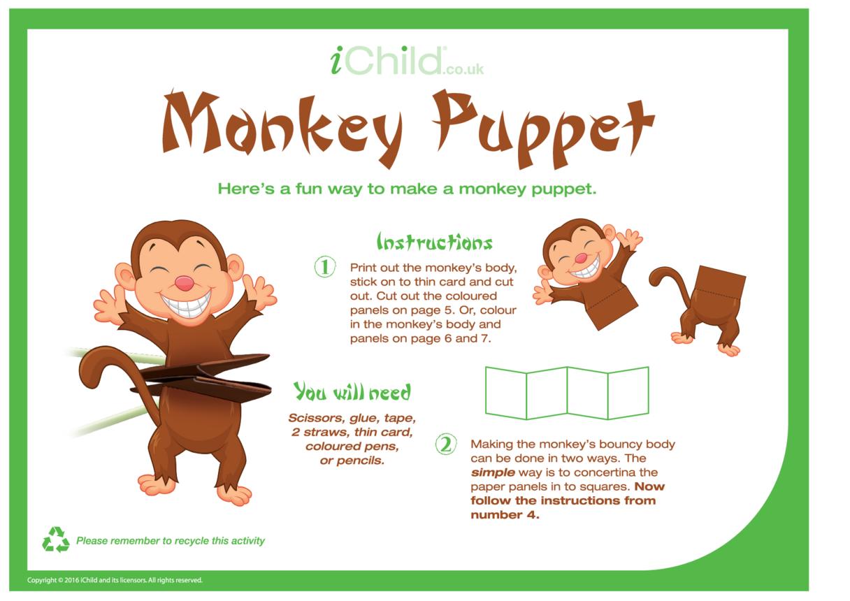 Chinese Monkey Puppet