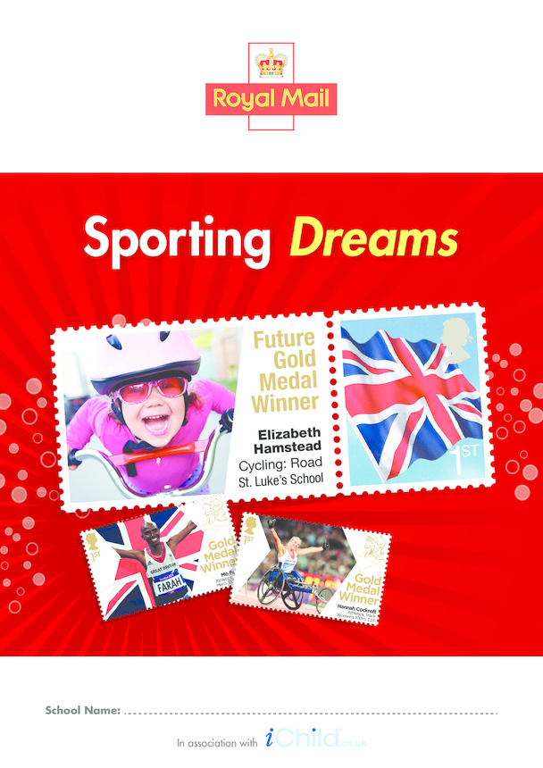 Royal Mail Sporting Dreams School Poster in Colour