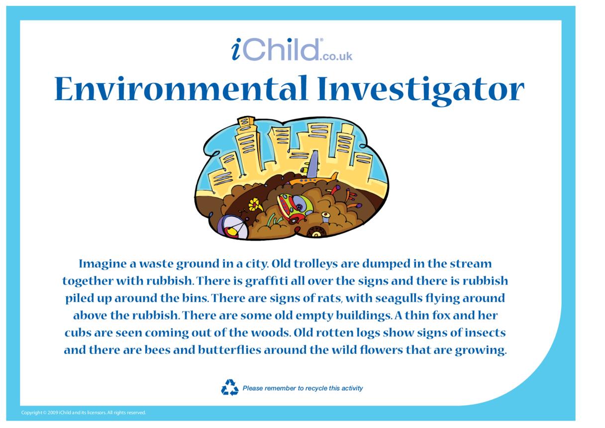 Environmental Investigator