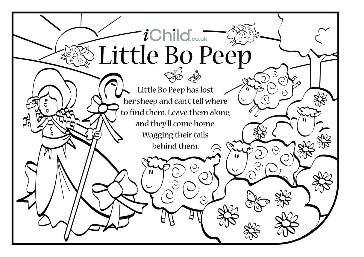 Little Bo Peep Lyrics