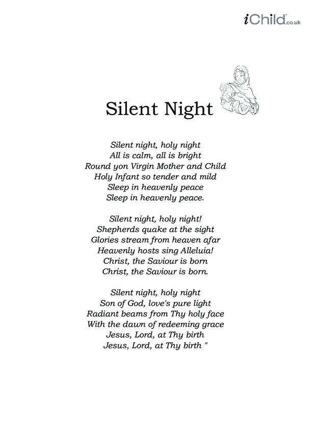 Christmas Carol Lyrics: Silent Night
