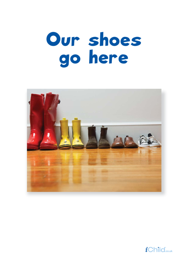 Our Shoes Go Here: Poster