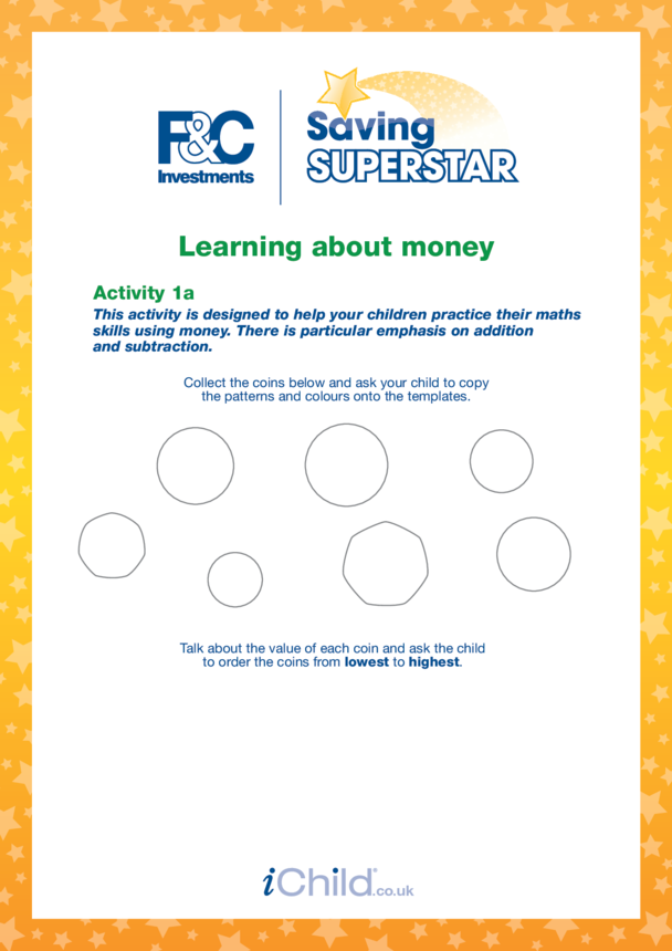 Age 5-7 years (1a) Learning about money
