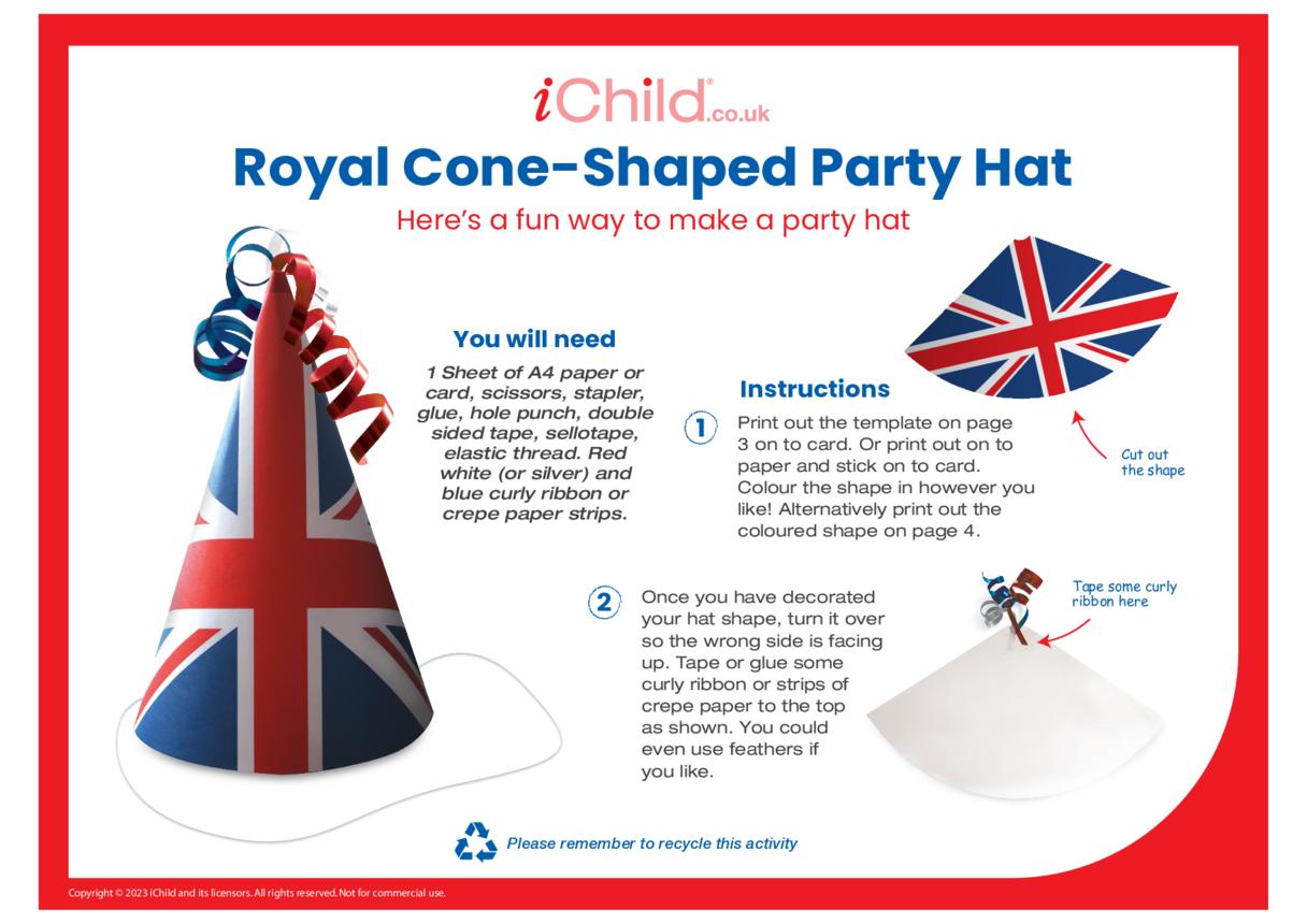 Union Flag Party Hat