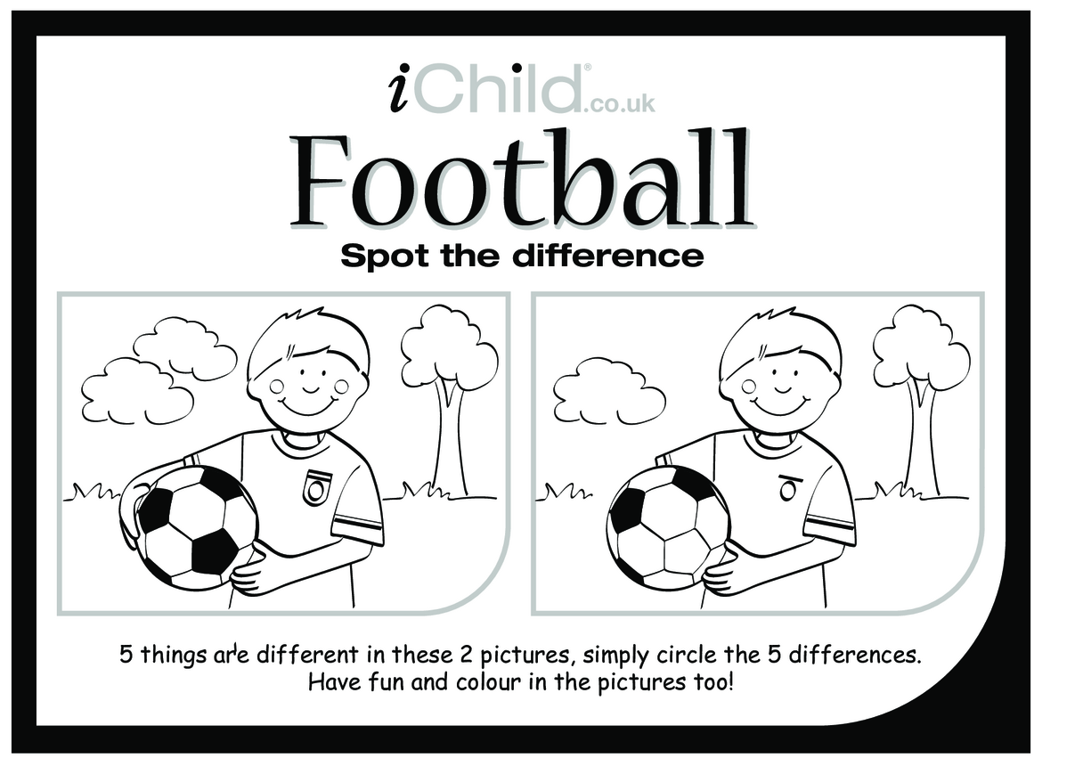 Football Spot the Difference
