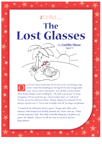 Thumbnail image for the The Lost Glasses activity.