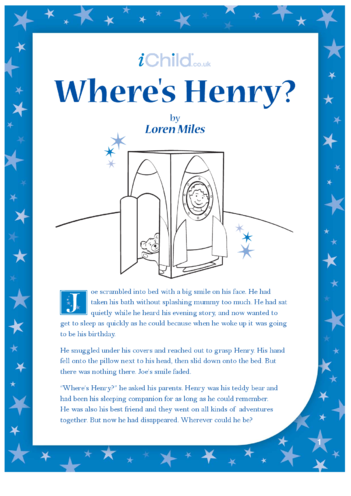 Thumbnail image for the Where's Henry? activity.