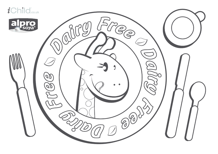 Thumbnail image for the Dairy Free Place Mat activity.