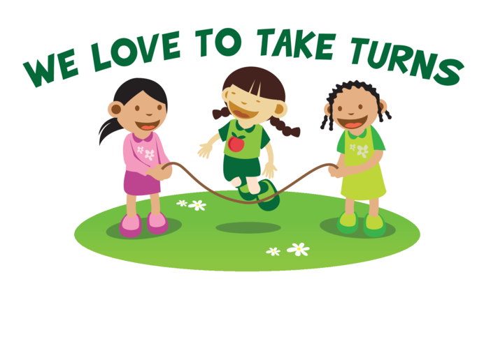 Thumbnail image for the We Love to Take Turns Signs & Poster activity.