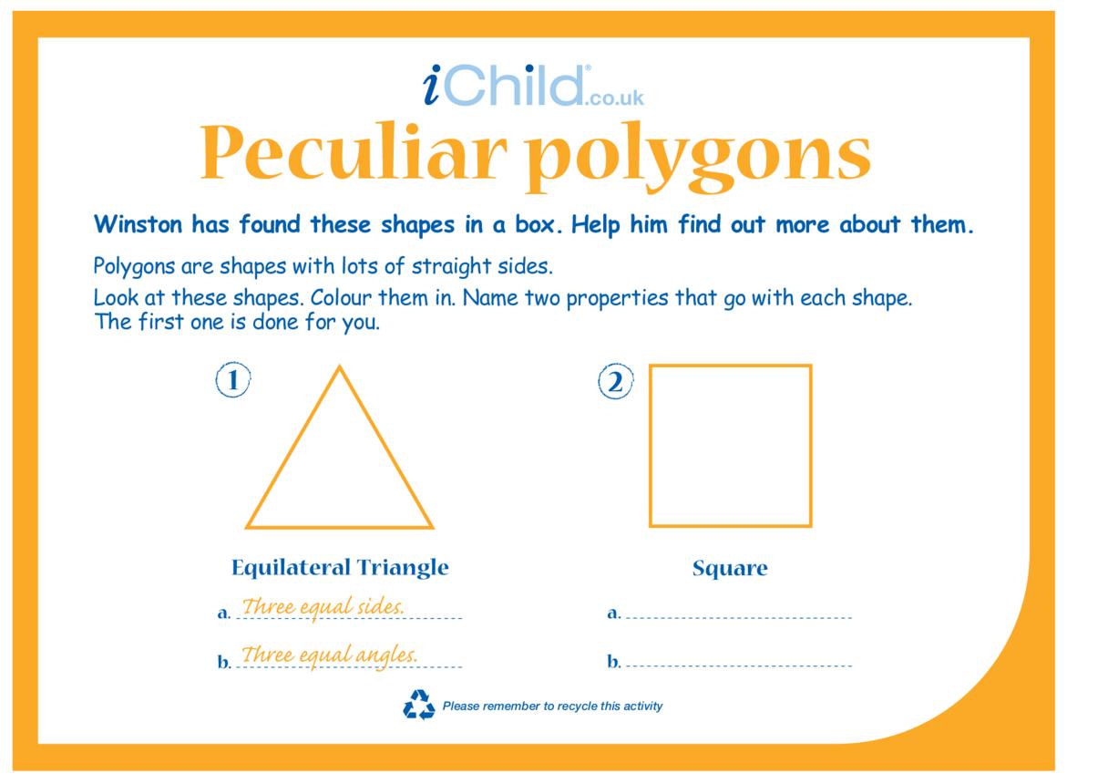 Peculiar Polygons