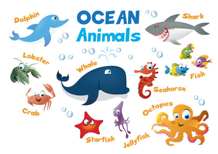 Thumbnail image for the Animals in the Ocean - Signs & Posters activity.