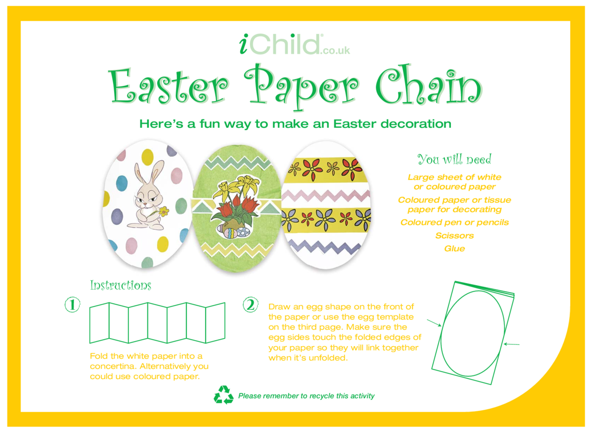 Easter Paper Chain