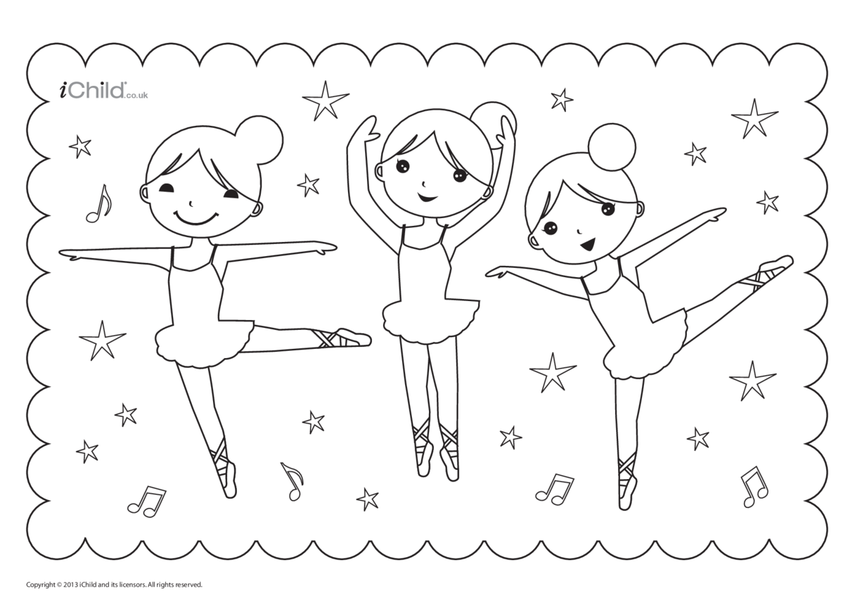 Birthday Party Place Mats- Ballet