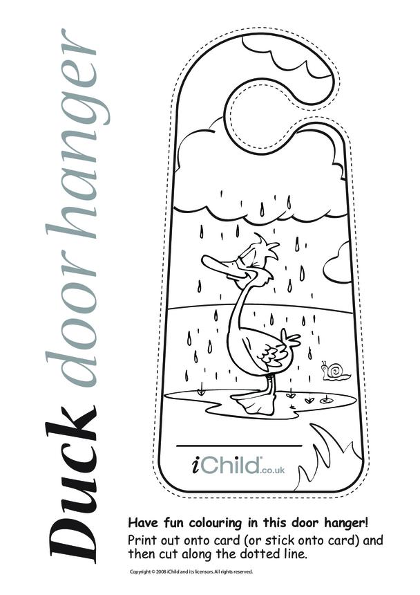 Duck Door Hanger