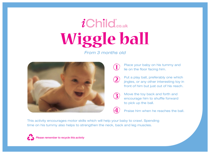 Thumbnail image for the Wiggle Ball activity.