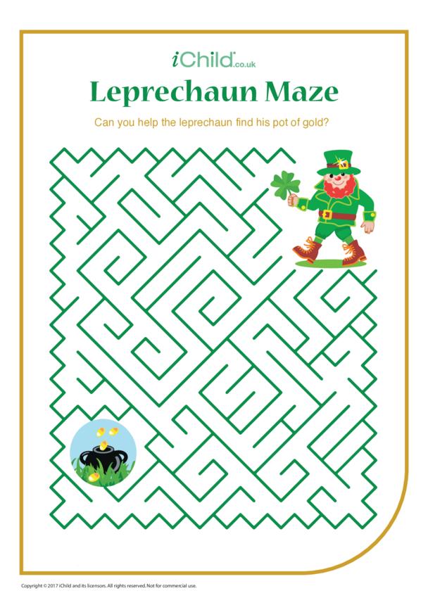 Leprechaun Maze