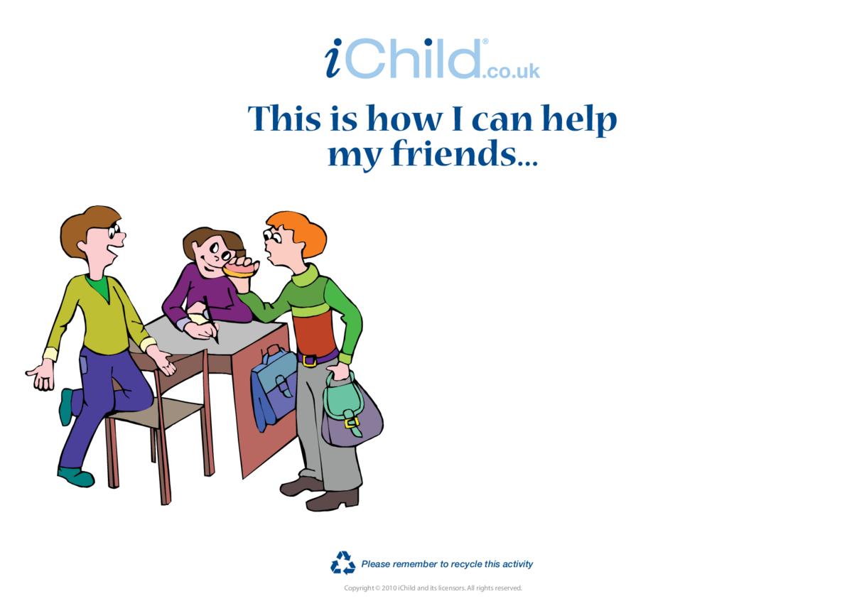 Goal Setting- Helping Friends