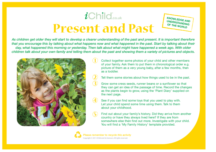 Thumbnail image for the Present and Past activity.