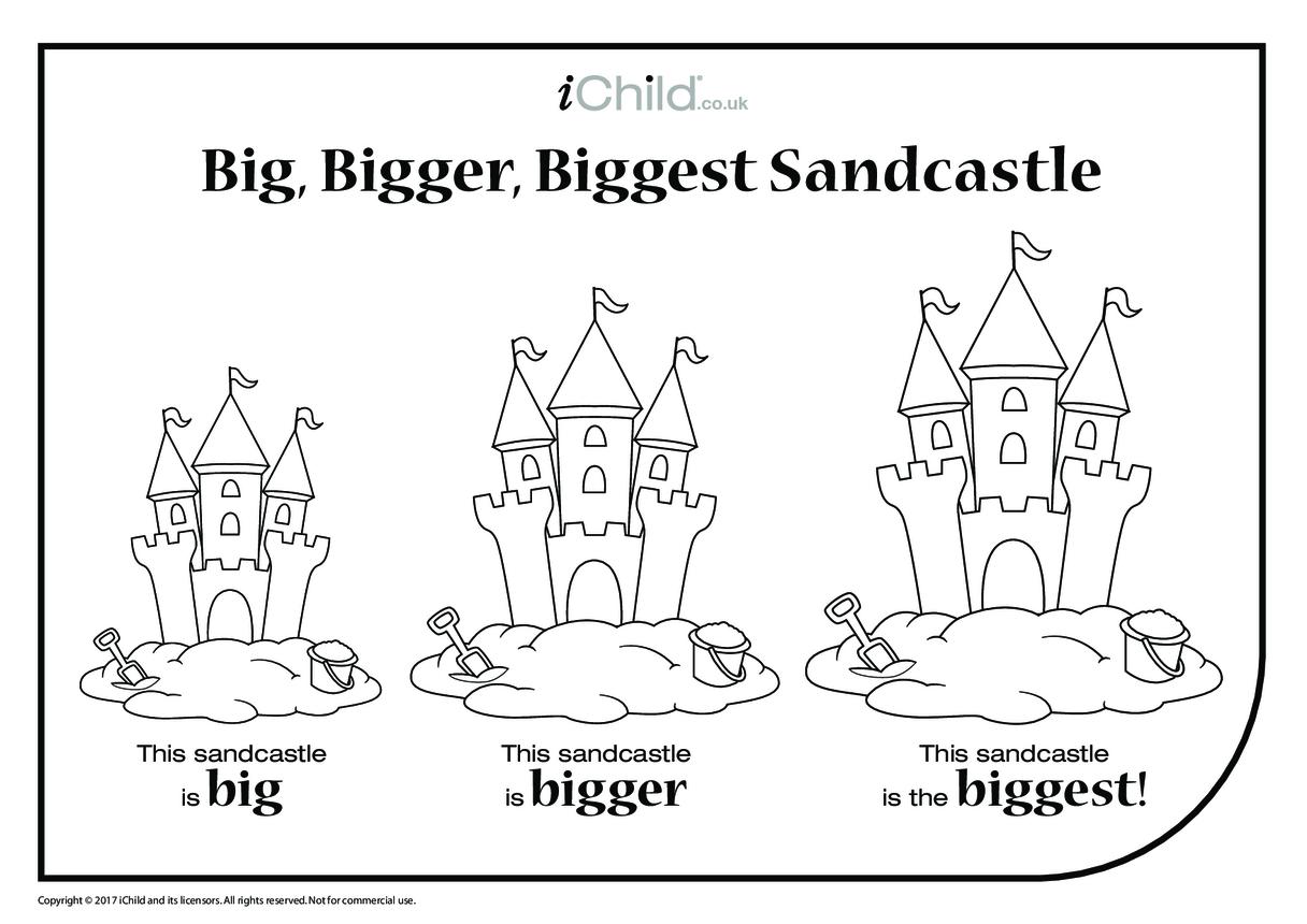 Big, Bigger, Biggest Sandcastle