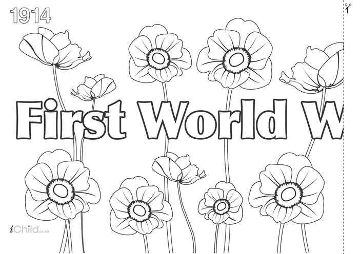 Thumbnail image for the First World War Centenary Banner activity.