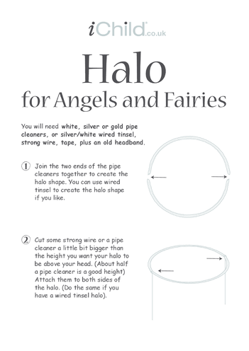 Thumbnail image for the Halo for Angels activity.