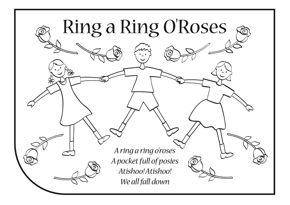 Ring A Ring O' Roses Lyrics