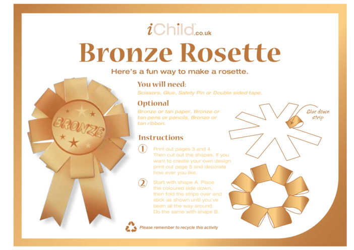 Thumbnail image for the Rosette- Bronze activity.