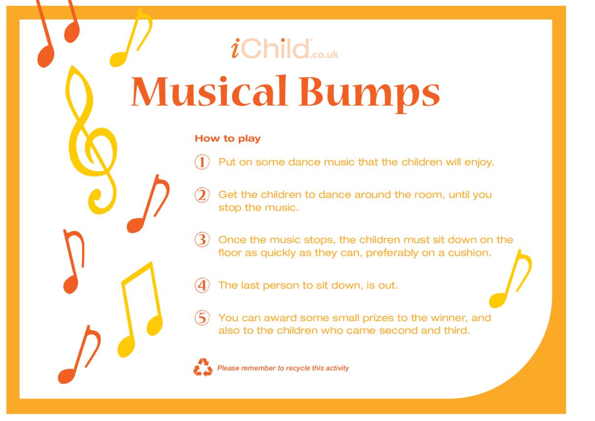Game -  Musical Bumps