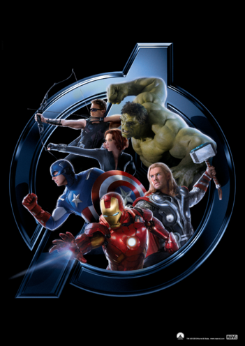 Thumbnail image for the Avengers Assemble Character Poster 2 activity.