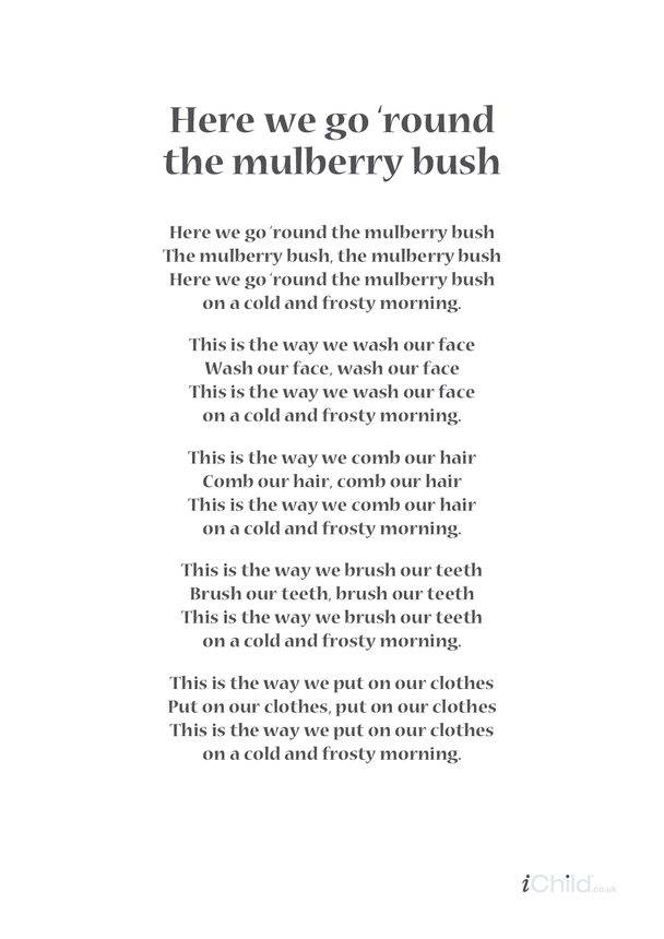 Mulberry Bush Lyrics