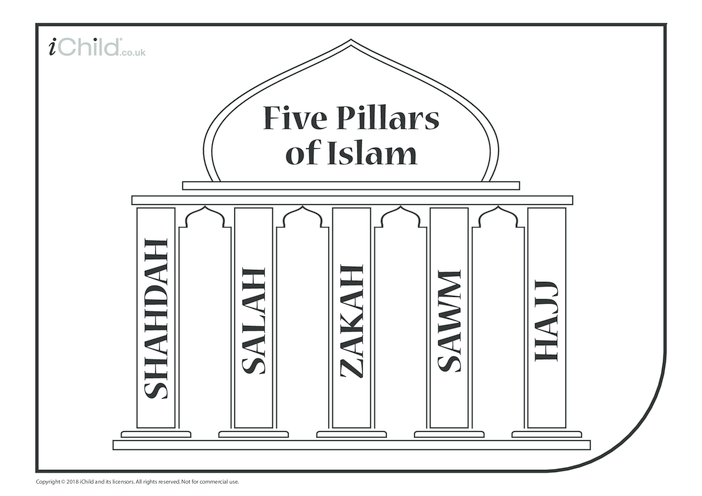 Thumbnail image for the Five Pillars of Islam activity.