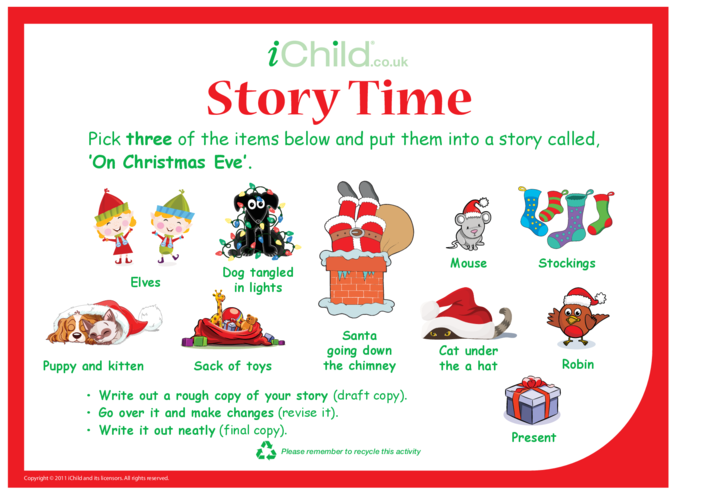 Thumbnail image for the Story Time - Christmas Eve activity.