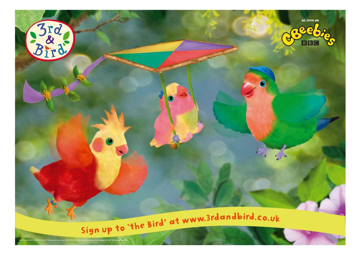 3rd & Bird Poster