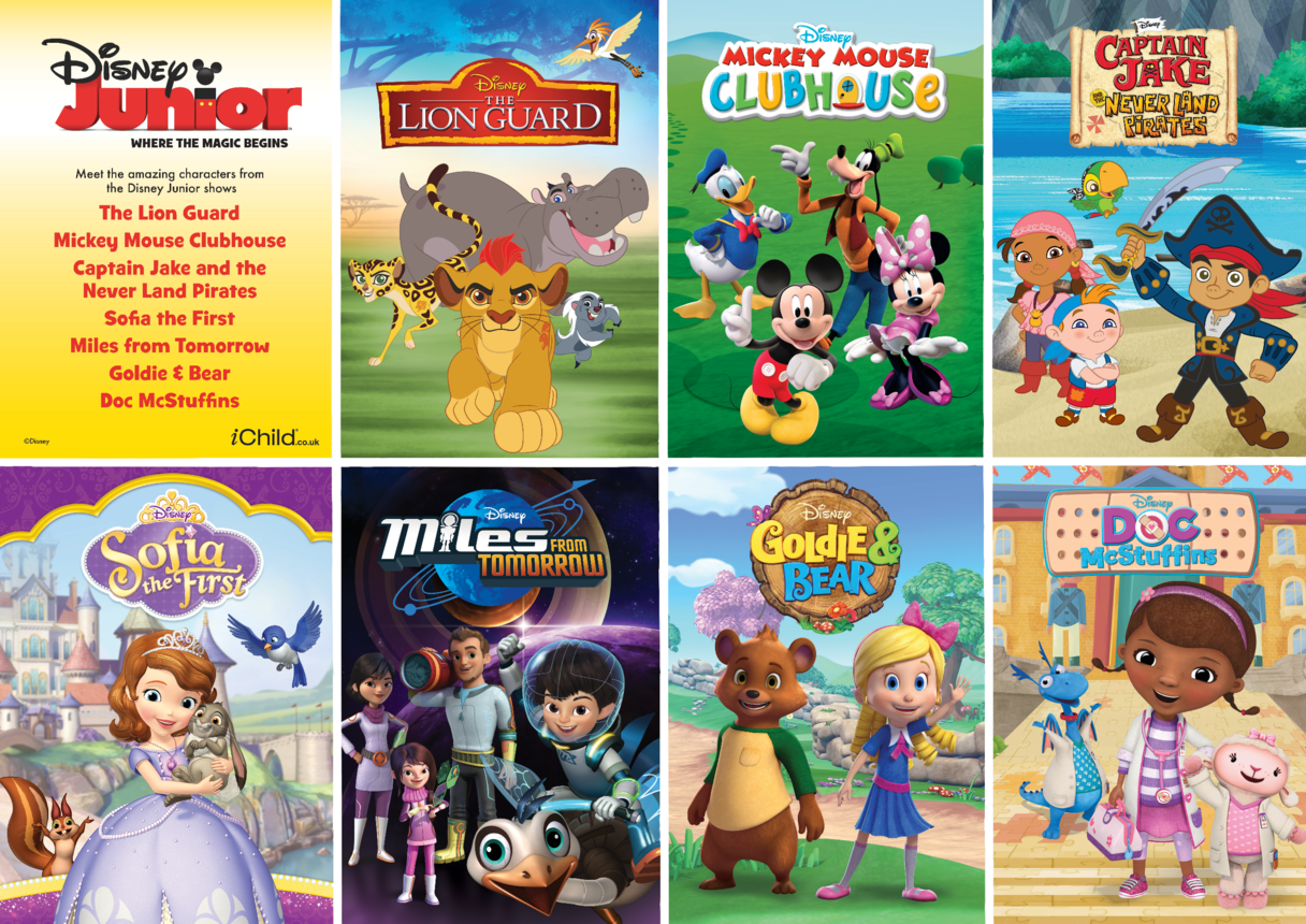2. Disney Junior Character Poster