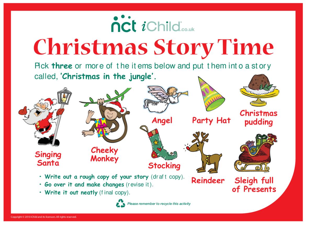 Cheeky Monkey Christmas Story