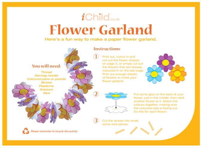 Thumbnail image for the Flower Garland activity.
