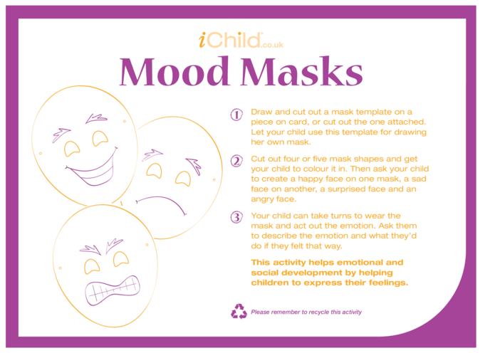 Thumbnail image for the Mood Masks activity.
