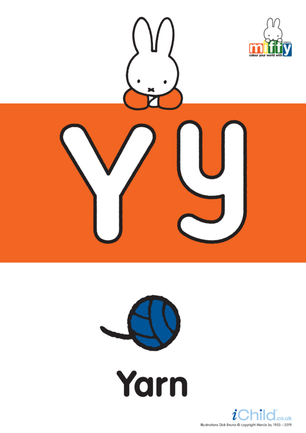 Y: Miffy's Letter Yy