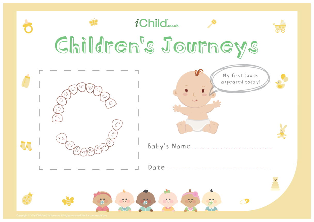 Children's Journeys: My First Tooth