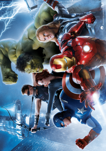 Thumbnail image for the Avengers Assemble Character Poster (Horizontal) activity.