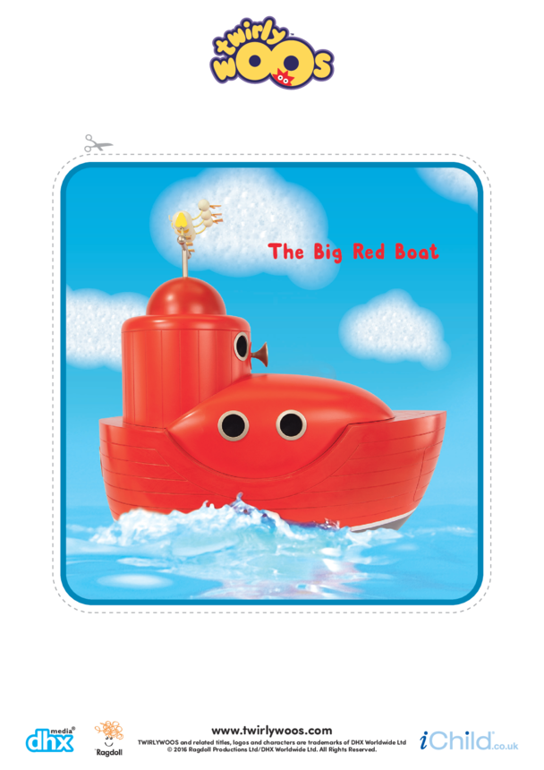 The Big Red Boat Cut-out