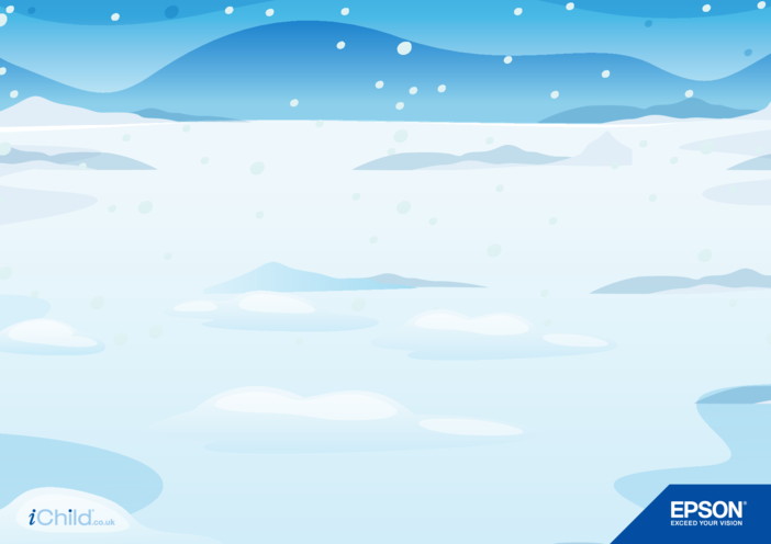 Thumbnail image for the Epson Ice/Snow Background activity.