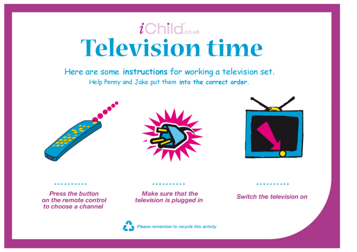 Thumbnail image for the Television Time activity.
