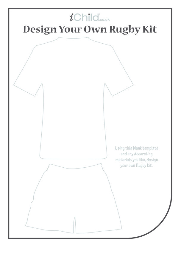Design your own Rugby Kit: 1