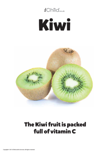 Thumbnail image for the Kiwi Fruit - Poster activity.