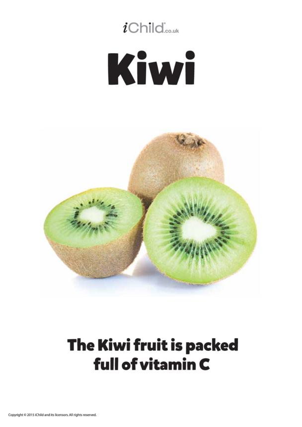Kiwi Fruit - Poster