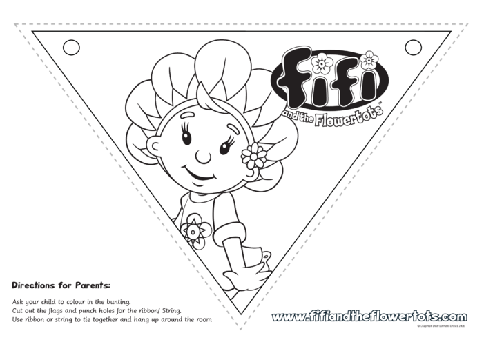 Thumbnail image for the Fifi Bunting activity.
