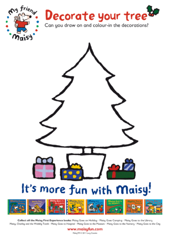 Thumbnail image for the Decorate Your Tree With Maisy activity.