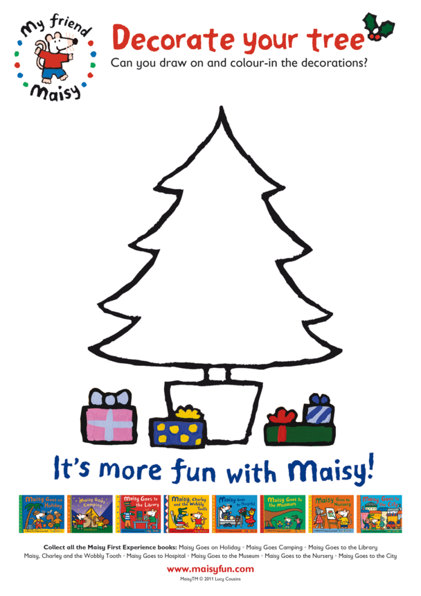 Decorate Your Tree With Maisy